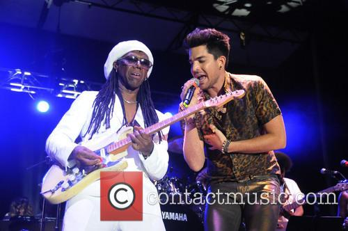 Nile Rodgers and Adam Lambert 11