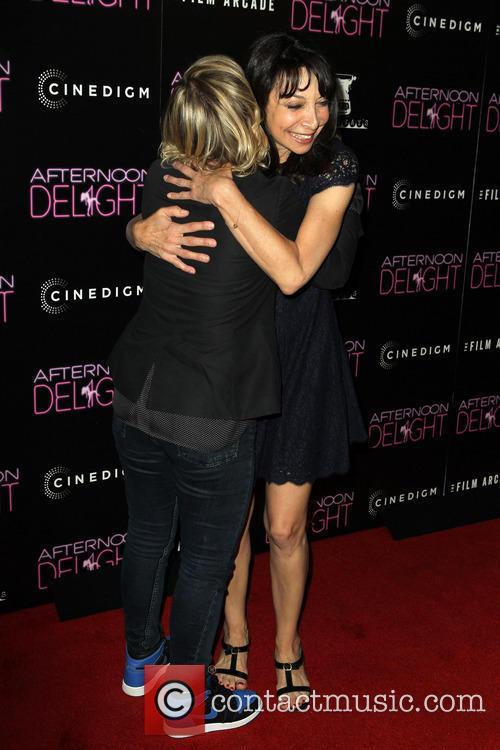 Amy Poehler and Illeana Douglas 5