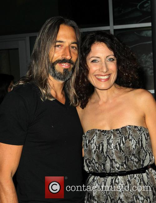 Lisa Edelstein and Robert Russell 8