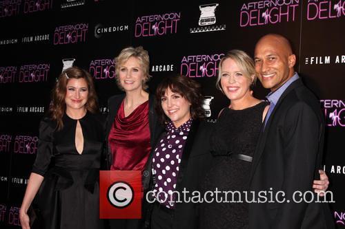 Kathryn Hahn, Jane Lynch, Jill Soloway, Jessica St. Clair and Keegan Michael Key 9
