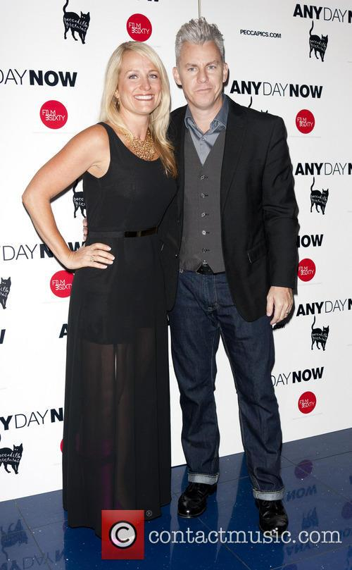 Travis Fine and Wife Christine