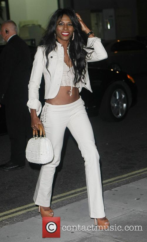sinitta celebrities at the sanderson hotel 3825338