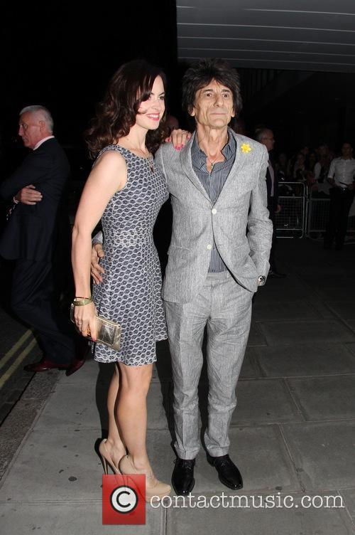 Ronnie Wood and Sally Wood 6