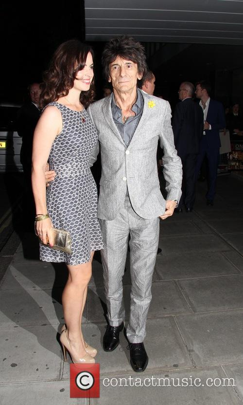Ronnie Wood and Sally Wood 7