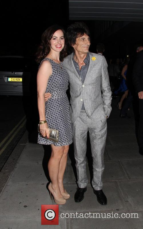 Ronnie Wood and Sally Wood 8