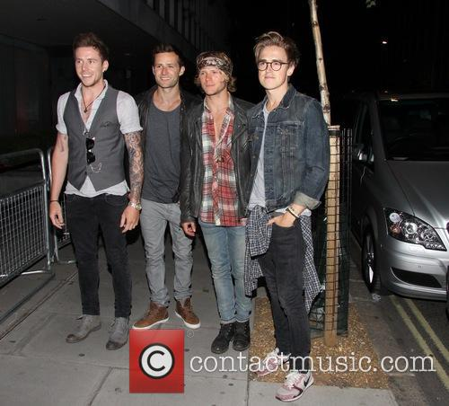 Tom Fletcher, Danny Jones, Dougie Poynter and Harry Judd Of Mcfly 2