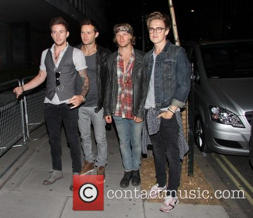 Tom Fletcher, Danny Jones, Dougie Poynter and Harry Judd Of Mcfly 1