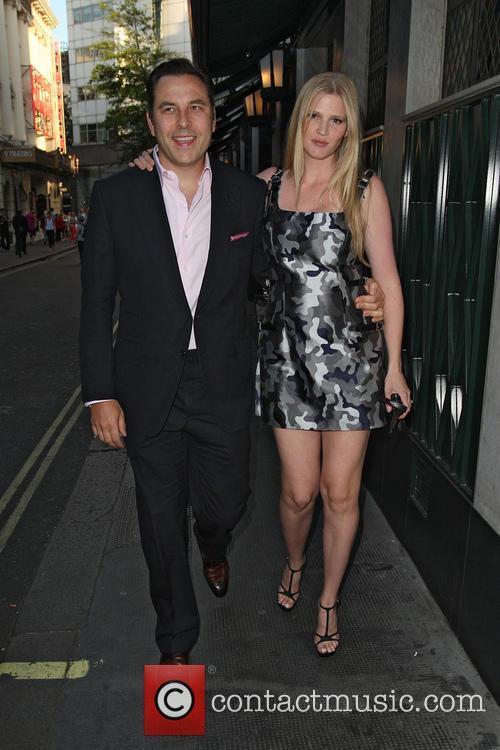 David Walliams and Lara Stone 5