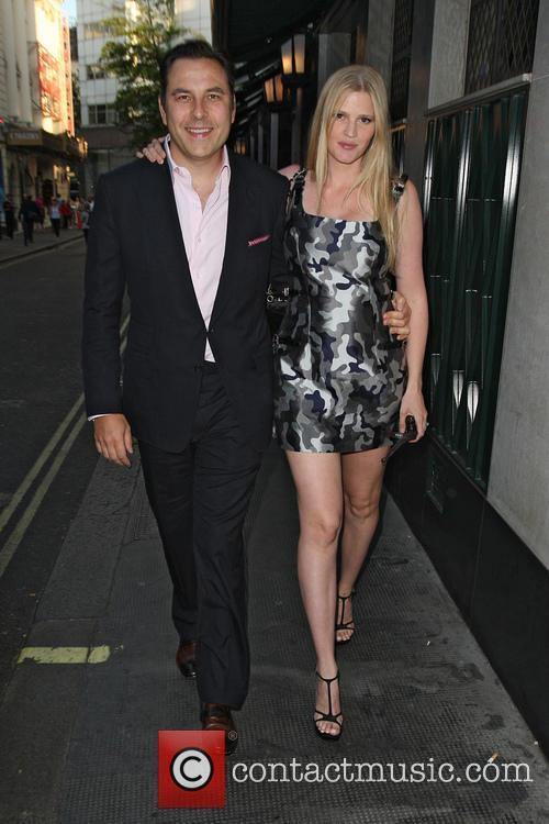 David Walliams and Lara Stone 7