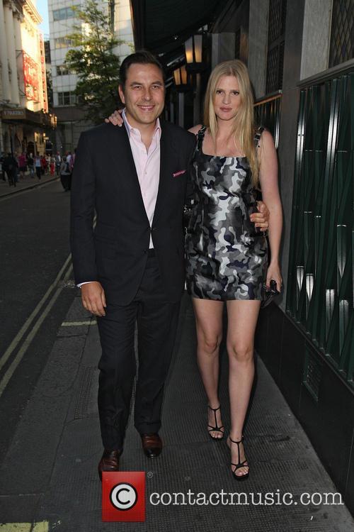 David Walliams and Lara Stone 8