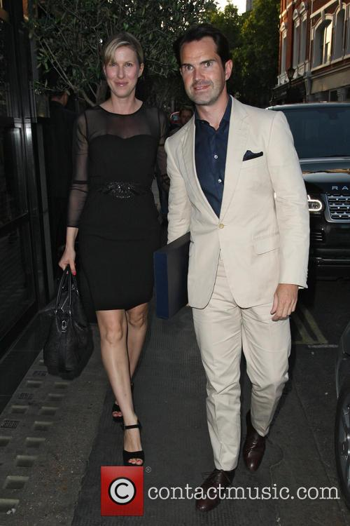 Jimmy Carr and Karoline Copping 2