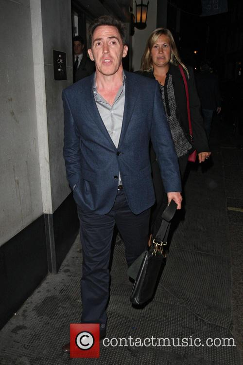 Rob Brydon and Clare Brydon 2