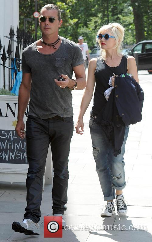 Gavin Rossdale and Gwen Stefani 9