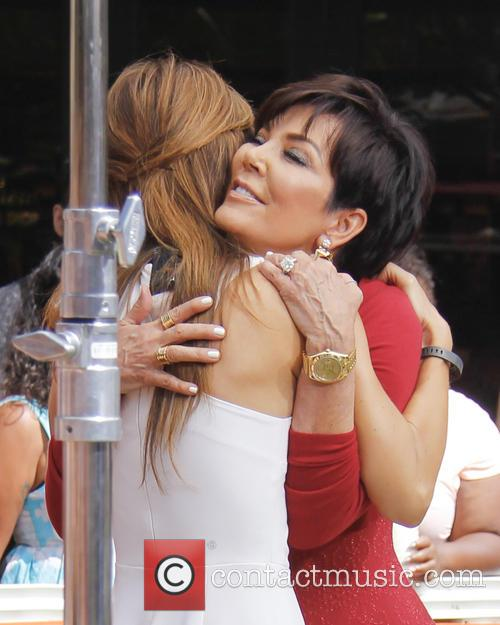 Kris Jenner, Maria Menounos, The Grove