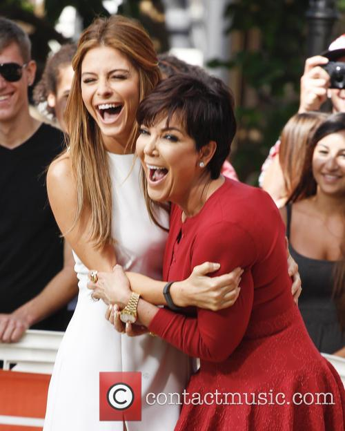 Kris Jenner and Maria Menounos 3