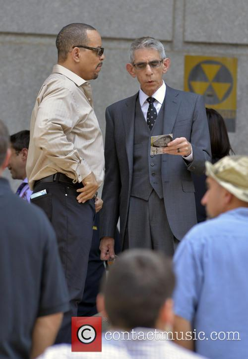 Ice T and Richard Belzer 1