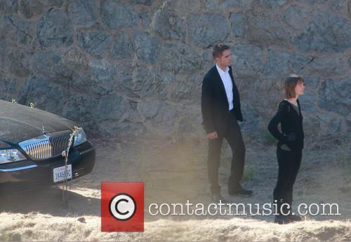 Robert Pattinson and Mia Wasikowska