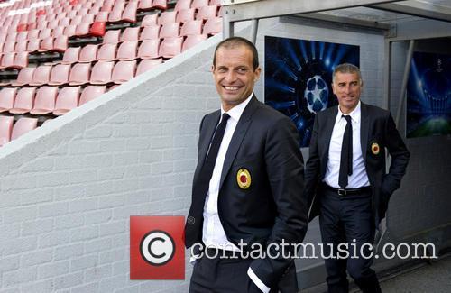 Massimiliano Allegri and Mayro Tassoti 3