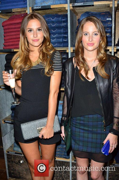 Lucy Watson and Rosie Fortescue 2