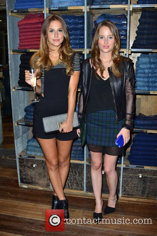 Lucy Watson and Rosie Fortescue 8