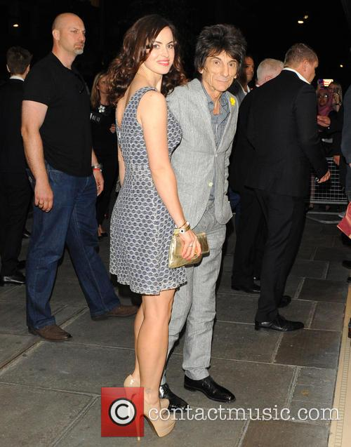 Ronnie Wood and Sally Humphreys 4
