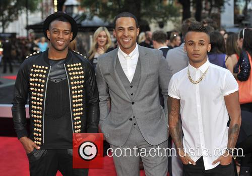 Aston Merrygold, J.b. Gill, Marvin Humes and One Direction 2
