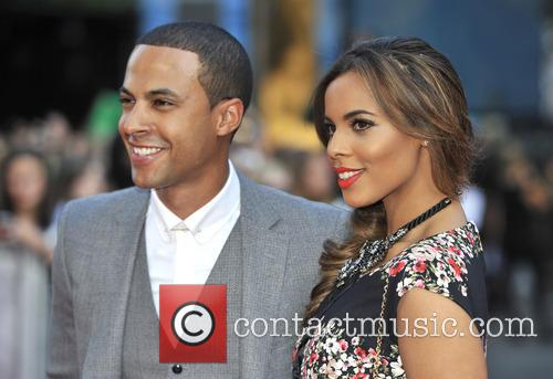 Marvin Humes and Rochelle Wiseman 2