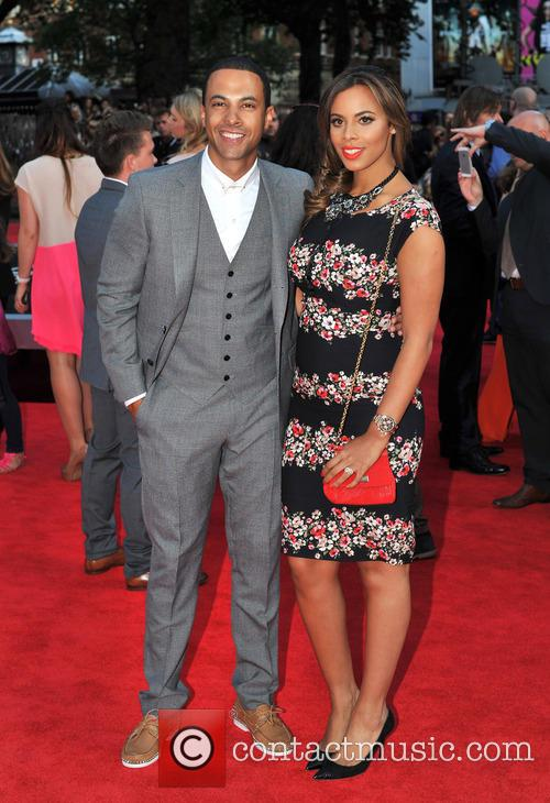 Marvin Humes and Rochelle Wiseman 3