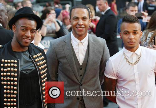 Aston Merrygold, J.b. Gill, Marvin Humes and One Direction 3