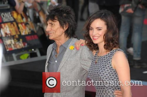 Ronnie Wood and Sally Humphreys 3