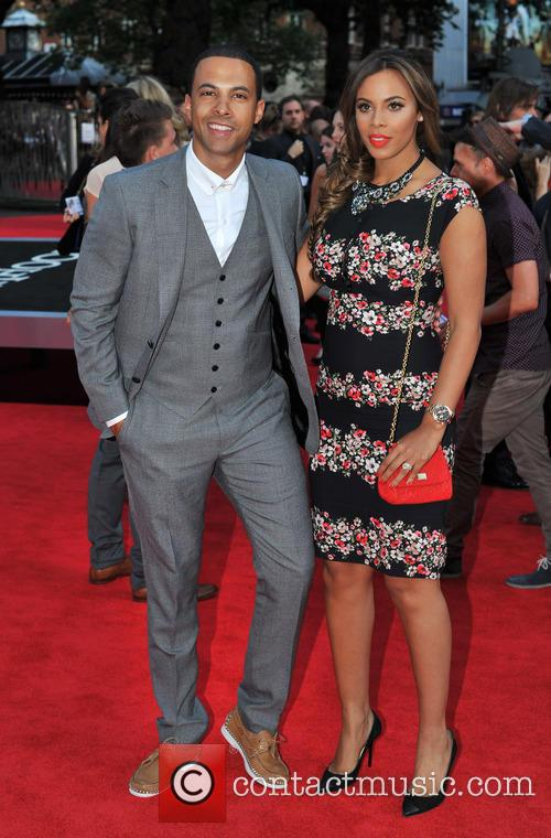 Marvin Humes and Rochelle Wiseman 4