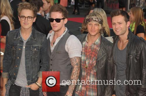 Harry Judd, Danny Jones, Dougie Poynter and Tom Fletcher 2