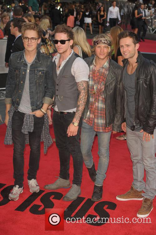 Harry Judd, Danny Jones, Dougie Poynter and Tom Fletcher 3
