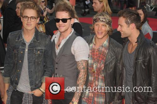 Harry Judd, Danny Jones, Dougie Poynter and Tom Fletcher 4