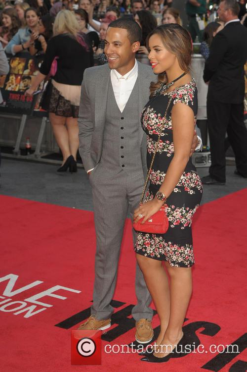 rochelle wiseman marvin humes world premiere of one 3825744