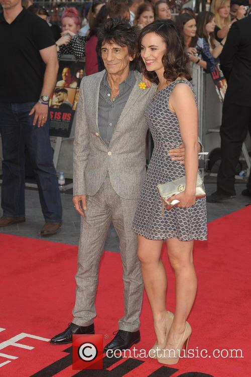 Ronnie Wood and Sally Wood 1