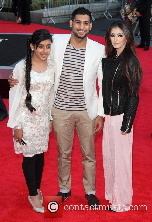 Amir Khan, Empire Leicester Square