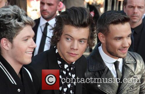 Niall Horan, Harry Styles and Liam Payne 9