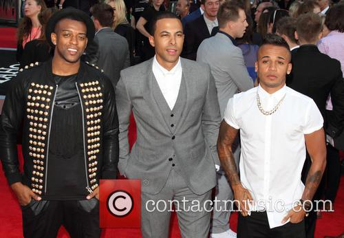 Oritse Williams, Marvin Humes and Aston Merrygold