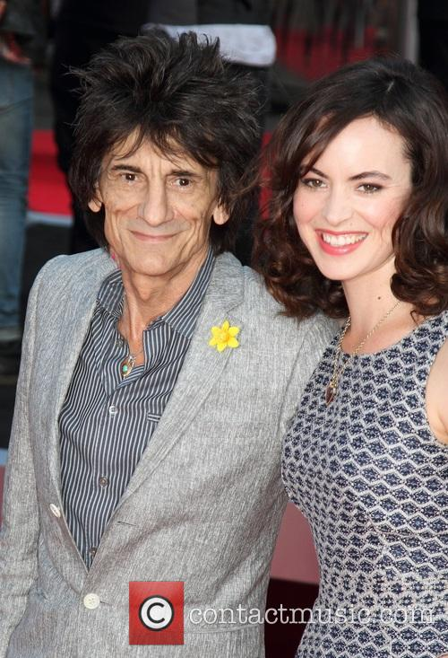Ronnie Wood and Sally Humphreys 9
