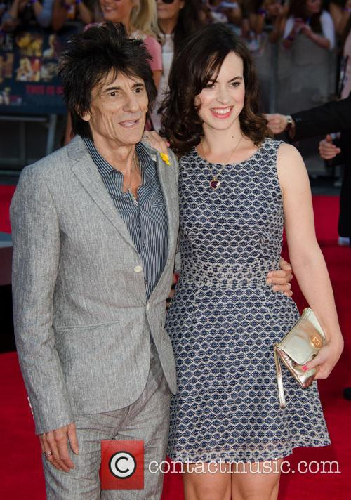 Ronnie Wood and Sally Wood 11