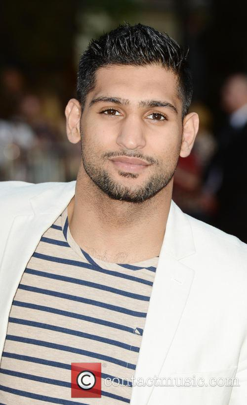 amir khan world premiere of one direction 3825159