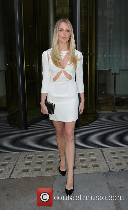 Diana Vickers leaving her hotel