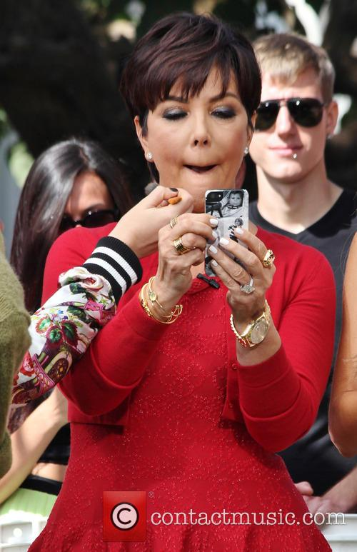 kris jenner celebrities at the grove to 3826866
