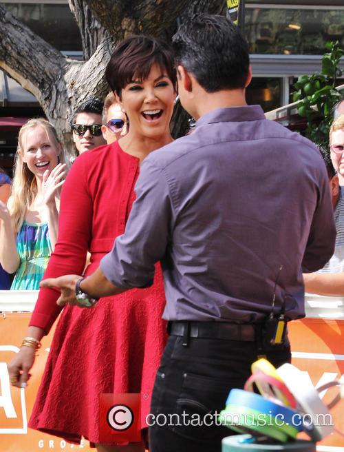Kris Jenner and Mario Lopez 7