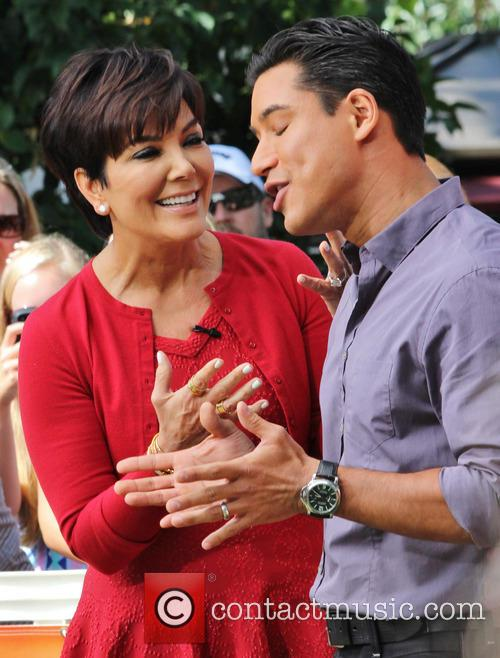 Kris Jenner and Mario Lopez 1