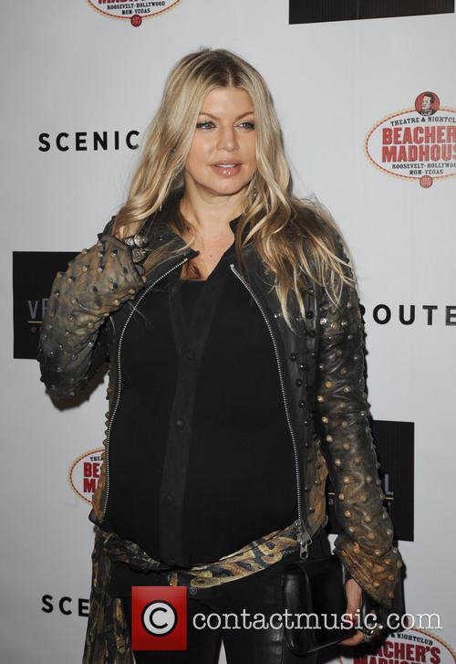fergie los angeles premiere of scenic route 3826526