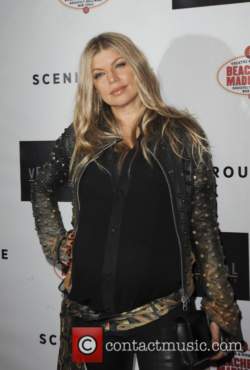 fergie los angeles premiere of scenic route 3826543