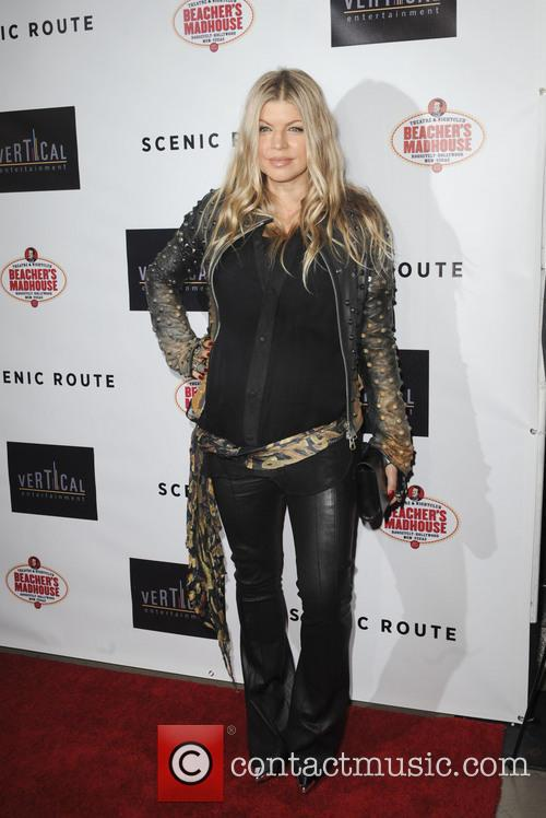 fergie los angeles premiere of scenic route 3826544
