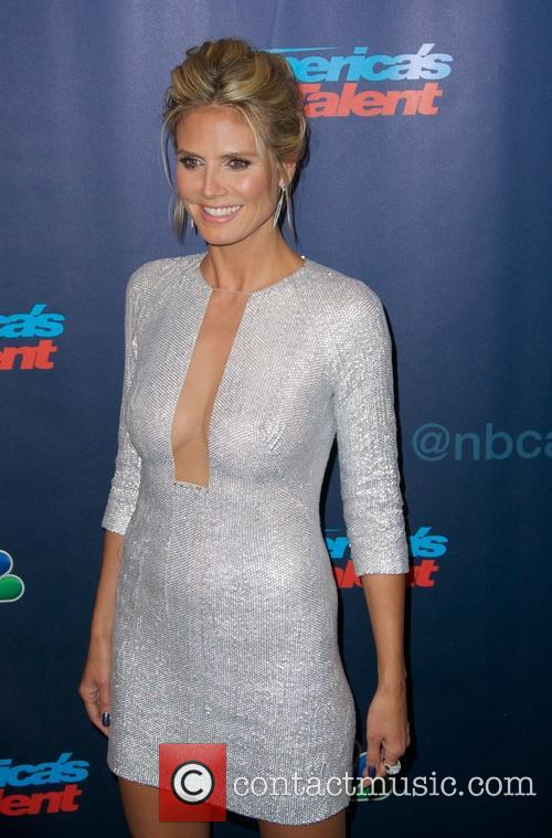 heidi klum americas got talent post show 3828086